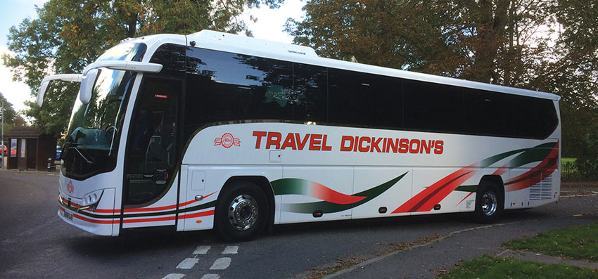 Dickinsons Coach Travel Holidays, Day Trips & Coach Hire